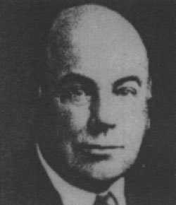 1917 Chairman George Browne