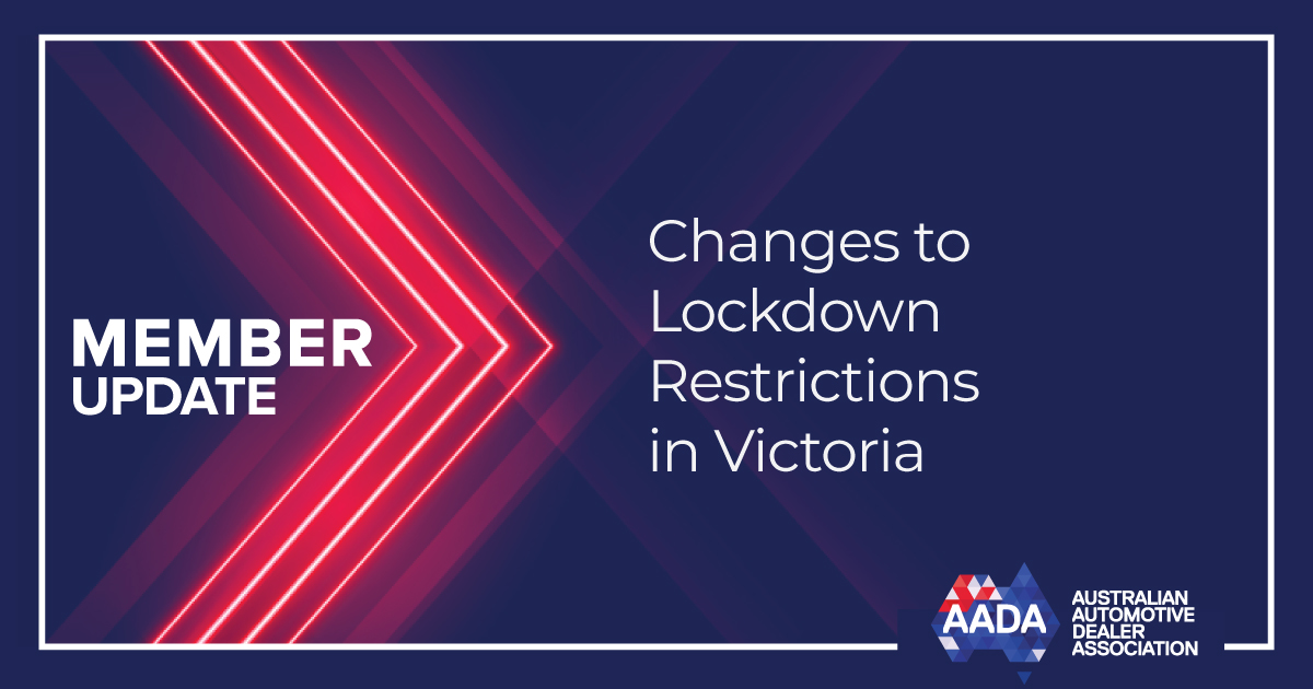 Changes To Lockdown Restrictions In Victoria 19th October 2020 Aada
